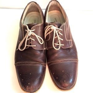 Mens Dockers Oxford size 12 causal brown